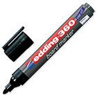 Маркер для досок Edding e-360/1 cap off, черный, 1.5-3 мм